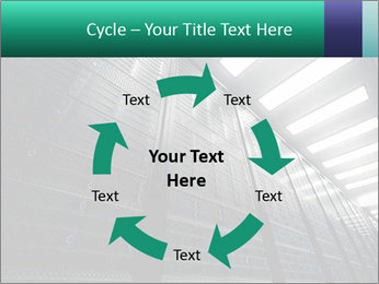 Big Server Room PowerPoint Template - Slide 62