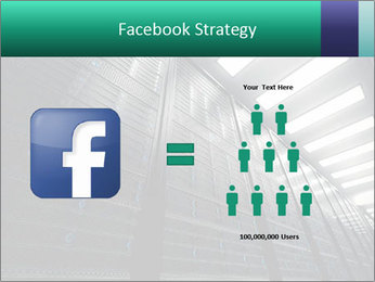 Big Server Room PowerPoint Template - Slide 7