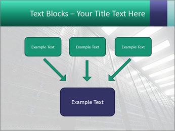 Big Server Room PowerPoint Template - Slide 70