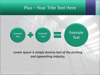 Big Server Room PowerPoint Templates - Slide 75
