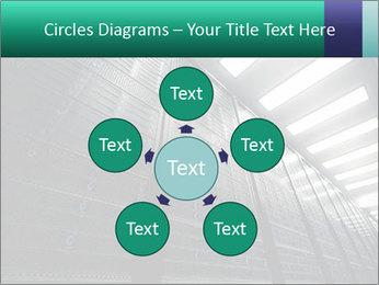 Big Server Room PowerPoint Template - Slide 78