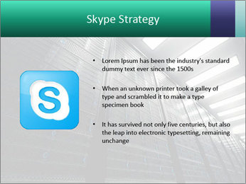 Big Server Room PowerPoint Template - Slide 8