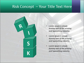Big Server Room PowerPoint Template - Slide 81