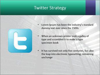 Big Server Room PowerPoint Templates - Slide 9