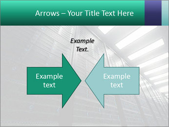 Big Server Room PowerPoint Template - Slide 90