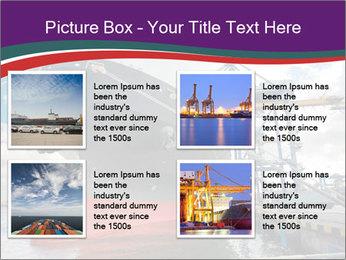 Huge Tanker PowerPoint Template - Slide 14