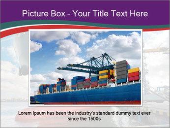Huge Tanker PowerPoint Template - Slide 15