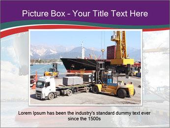 Huge Tanker PowerPoint Template - Slide 16