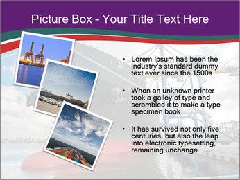 Huge Tanker PowerPoint Template - Slide 17