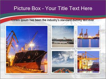 Huge Tanker PowerPoint Template - Slide 19