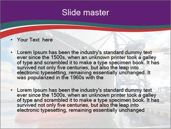 Huge Tanker PowerPoint Template - Slide 2