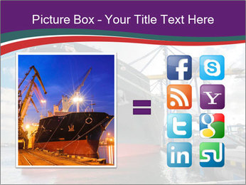 Huge Tanker PowerPoint Template - Slide 21