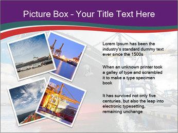 Huge Tanker PowerPoint Template - Slide 23