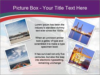 Huge Tanker PowerPoint Template - Slide 24