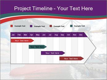 Huge Tanker PowerPoint Template - Slide 25