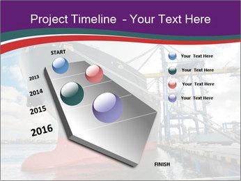 Huge Tanker PowerPoint Template - Slide 26