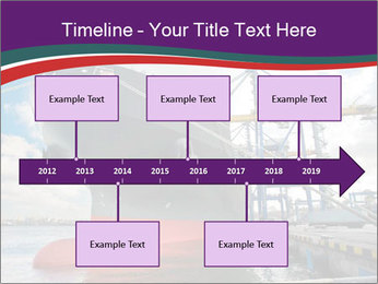 Huge Tanker PowerPoint Template - Slide 28
