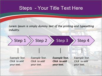 Huge Tanker PowerPoint Template - Slide 4