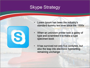 Huge Tanker PowerPoint Template - Slide 8