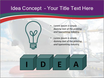 Huge Tanker PowerPoint Template - Slide 80