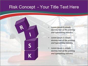 Huge Tanker PowerPoint Template - Slide 81