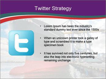 Huge Tanker PowerPoint Template - Slide 9