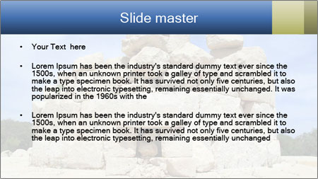 Ruins Of Piramide PowerPoint Template - Slide 2