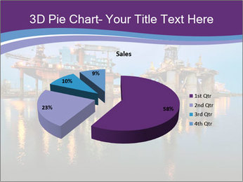 Shipyard At Night PowerPoint Template - Slide 35