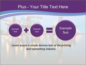 Shipyard At Night PowerPoint Template - Slide 75