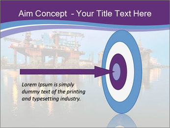 Shipyard At Night PowerPoint Template - Slide 83