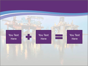 Shipyard At Night PowerPoint Template - Slide 95