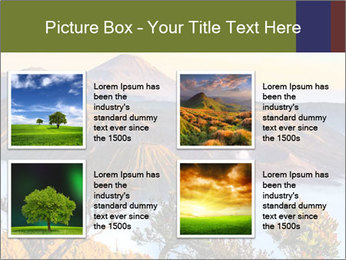Mountain Landscape PowerPoint Template - Slide 14