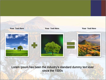 Mountain Landscape PowerPoint Template - Slide 22