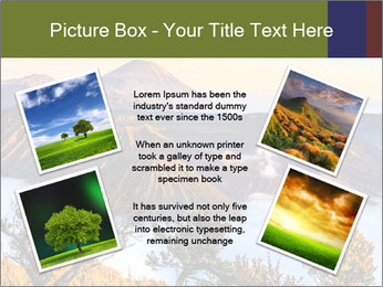 Mountain Landscape PowerPoint Template - Slide 24