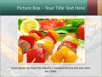 Chicken BBQ PowerPoint Templates - Slide 15