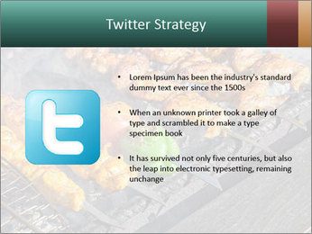 Chicken BBQ PowerPoint Templates - Slide 9