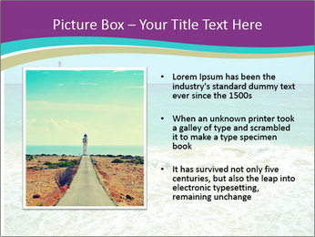 Ocean Coast PowerPoint Template - Slide 13
