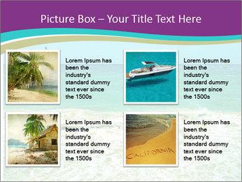Ocean Coast PowerPoint Template - Slide 14