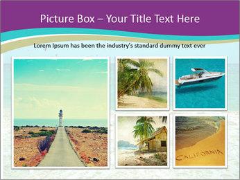 Ocean Coast PowerPoint Template - Slide 19