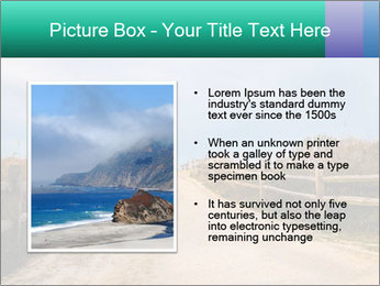 Sandy Road PowerPoint Template - Slide 13