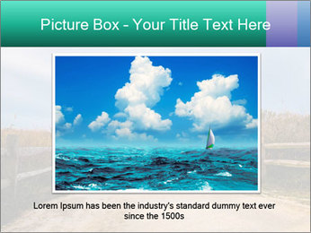 Sandy Road PowerPoint Template - Slide 15