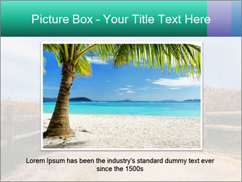 Sandy Road PowerPoint Template - Slide 16