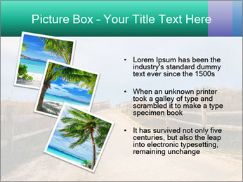Sandy Road PowerPoint Template - Slide 17