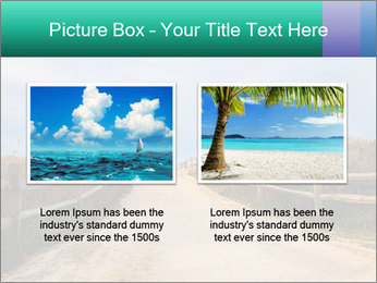 Sandy Road PowerPoint Template - Slide 18