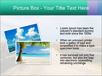 Sandy Road PowerPoint Template - Slide 20