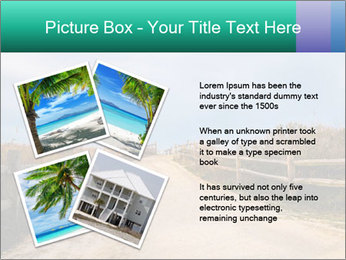Sandy Road PowerPoint Template - Slide 23