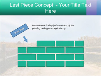 Sandy Road PowerPoint Template - Slide 46