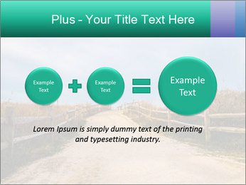 Sandy Road PowerPoint Template - Slide 75
