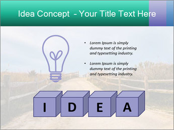 Sandy Road PowerPoint Template - Slide 80