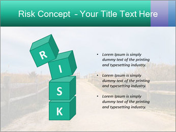 Sandy Road PowerPoint Template - Slide 81